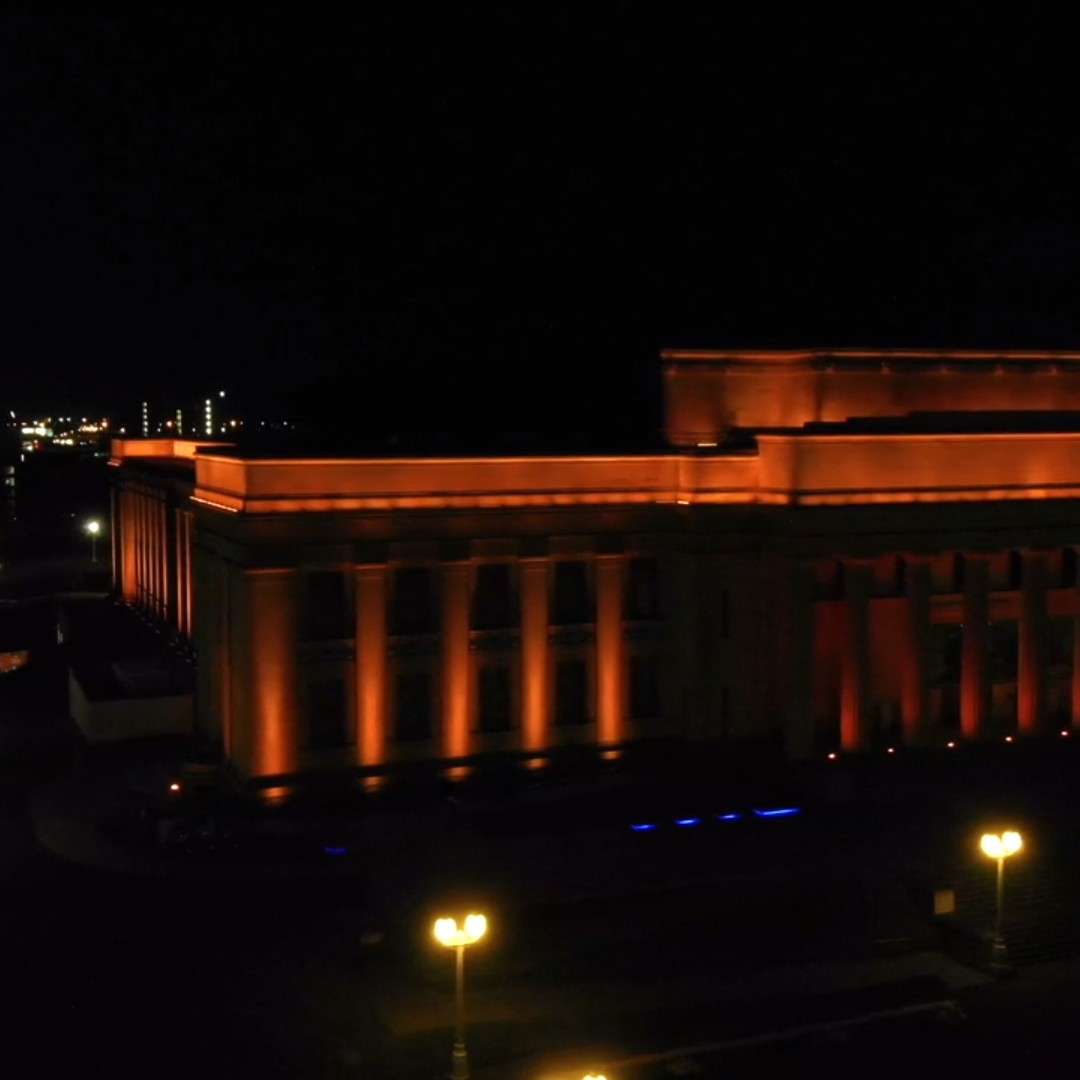 [FREE VIDEO] Auckland War Memorial Museum at night