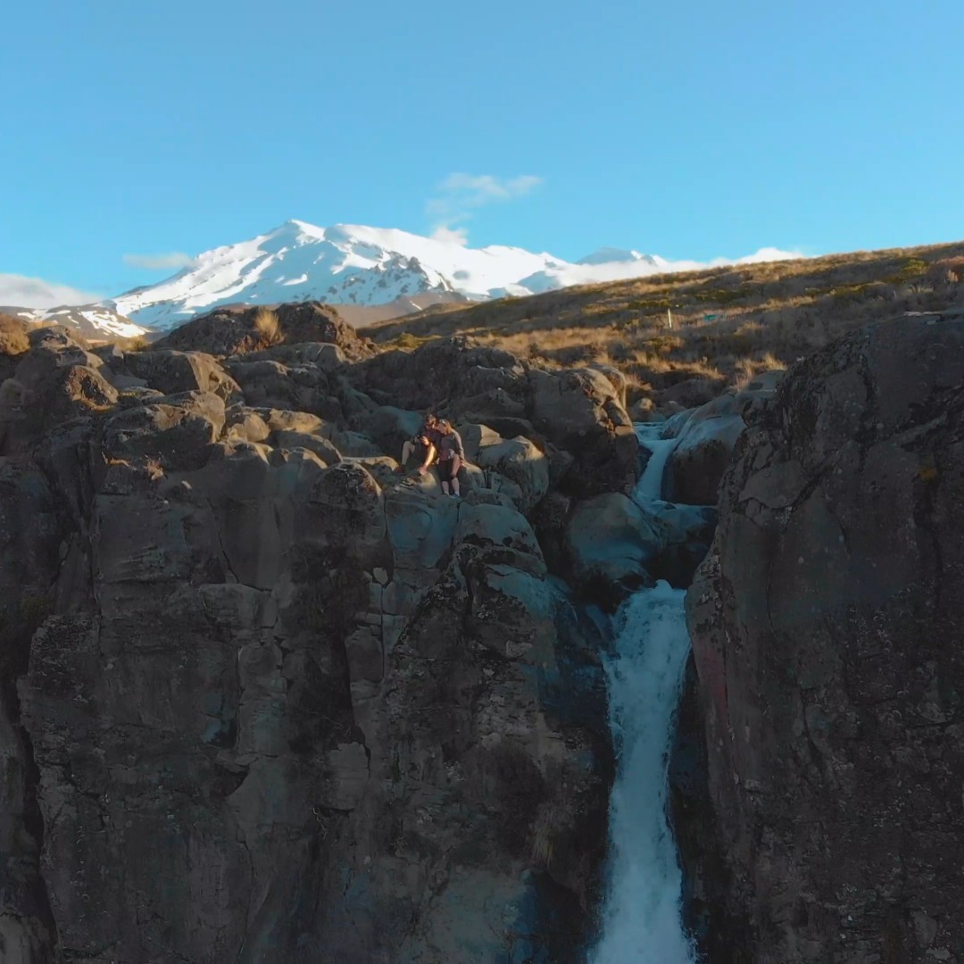 [FREE VIDEO] Taranaki falls and Mount Ruapehu